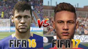 fifa 16 messi tattoo xbox 360 fifa 16 vs fifa 17 neymar face tattoo rotation youtube