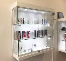wall display cabinet with glass doors wall units amusing wall display case wall display cabinet led