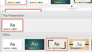 create powerpoint template online customize and save a theme in
