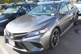 new 2018 toyota camry xse 4dr car in san jose c180132 stevens