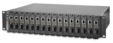 16 bay rack mount media converter chassis signamax