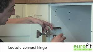 kitchen cupboard door hinge repair kit b q how to fit or replace a kitchen hinge