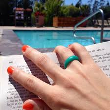 rubber wedding ring rubber wedding band for vacations swimming and careers where you