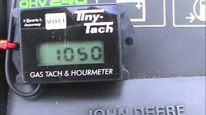 tiny tach installation and test youtube