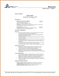 Example Skills Resume by 4206 Best Images About Latest Resume On Pinterest Sample Resume