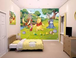 Winnie The Pooh Bedroom | disney winnie the pooh bedroom mural 10ft x 8ft walltastic
