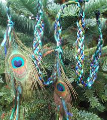 wedding handfasting cord wedding handfasting cord eye of peacock real feathers green blue