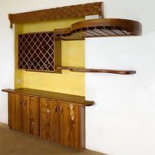built in bar with wine rack victor klassen