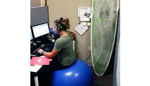 Exercise At Desk Job Desk What Size Exercise Ball To Sit At Desk Exercise Ball To Sit