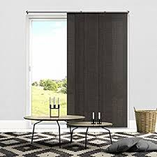 How To Shorten Vertical Blinds To Fit Window Amazon Com Chicology Adjustable Sliding Panels Cut To Length
