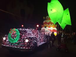 christmas light parade floats aps electric light parade celebrates 30 years of lighting up phoenix