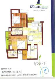overview sikka karmic greens sector 78 noida property mart