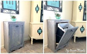 kitchen cabinet garbage can in cabinet trash can ikea upandstunning club