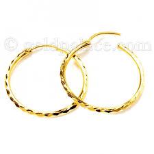 baby hoop earrings gold baby hoop earrings 22k gold jewelry gold palace jewelers inc