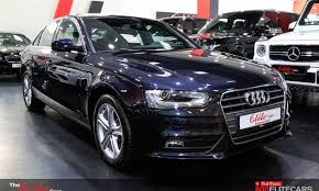 pre owned audi dubai audi a4 low mileage warranty and service contract from al nabooda