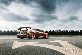 audi r8 slammed prior design audi r8 v10 adv005 m v2 cs wheels