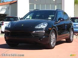 2011 Porsche Cayenne S - 2011 porsche cayenne s in black a51866 vannsuv com vans and
