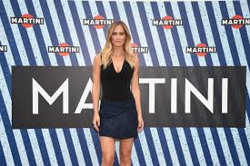 blue martini uniform bar refaeli brand ambassador for martini in barcelona milano and