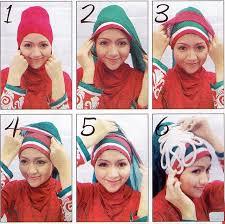 tutorial hijab pesta 2 kerudung lifestyle fashion