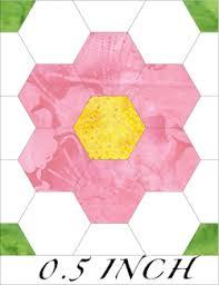 60 hexagon 0 5 inch