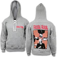 official cheap trick spiral laced hoodie cheap trick official