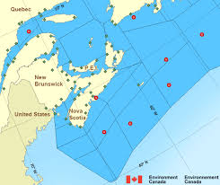 map of atlantic canada and usa halifax harbour and approaches maritimes environment canada