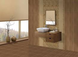Tiles For Bathrooms Ideas Nifty Bathroom Tiled Walls Design Ideas H55 On Home Decoration