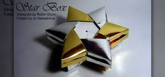 metallic gift box how to fold a metallic gold and silver christmas gift box