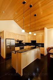 How To Clean Maple Kitchen Cabinets Maple Cabinets With Black Granite Countertops Dramatic