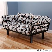 somette eli spacely multi flex black metal daybed lounger with