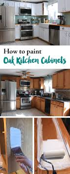 steps to paint oak kitchen cabinets how to paint oak kitchen cabinets diy kitchen renovation