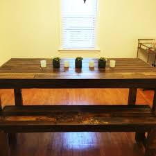 Dining Table And 2 Benches Buy A Custom Barnwood Dining Set Dining Table And 2 Benches