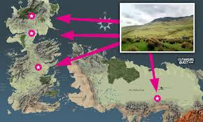 Game Of Thrones Google Map These Distant Game Of Thrones Locations All Filmed In The Same