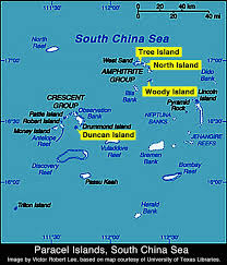 Spratly Islands Map Satellite Images China Manufactures Land At New Sites In The