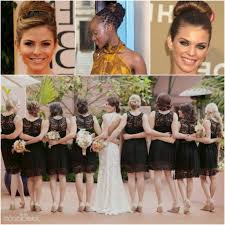 updo for bridesmaids 5 bridesmaid hairstyles for african