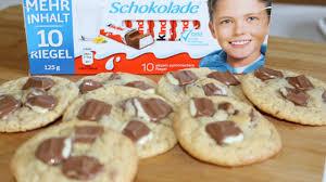 hervé cuisine cookies kinder maxi cookies hanael cuisine