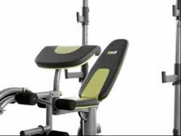 Weider Pro Bench Olympic Bench Youtube