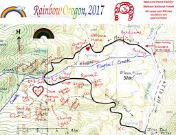 Oregon Fires Map Oregon Gathering 2017 June 2017