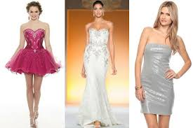 how to wear strapless dress