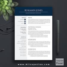Creative Modern Resume Templates Best Selling Resume Bundle The Benjamin Rb Cv Bundle Cover