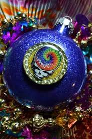 vintage grateful dead glass ornament officially licensed merch