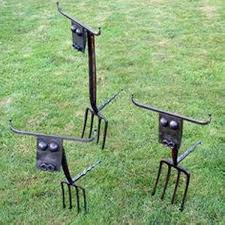 recycled metal garden decor ideas recycled things image