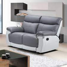 Gray Reclining Sofa by Sofas Center Gray Reclining Sofa Pasadena Power Two Seat Leather