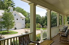 porch column ideas exterior traditional with patio furniture wood