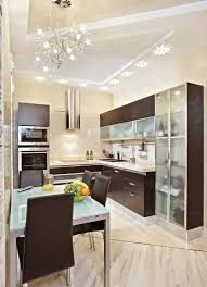 25 small kitchen design ideas photo gallery home dedicated small kitchen modern style glass wood cabinets