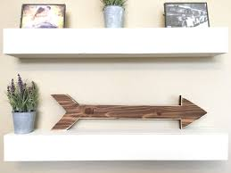 rustic wooden arrow wooden arrow sign rustic decor farmhouse