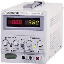 bench psu adjustable voltage gw instek sps 3610 0 36 vdc 0