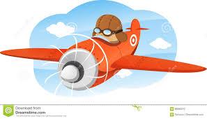 cartoon aeroplane stock illustration image 86682010
