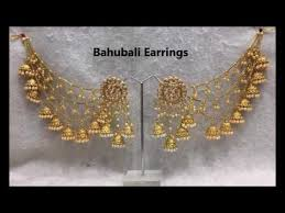 and jewelry bahubali earrings party wear earrings by indian dresses and