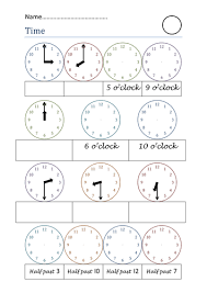time worksheets by prettybanana teaching resources tes